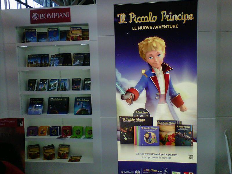 Il Piccolo Principe alla Fiera del libro per ragazzi di Bologna